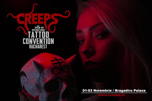 CREEPS la International Tattoo Convention Bucharest 2019