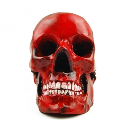 RED BOWL SKULL