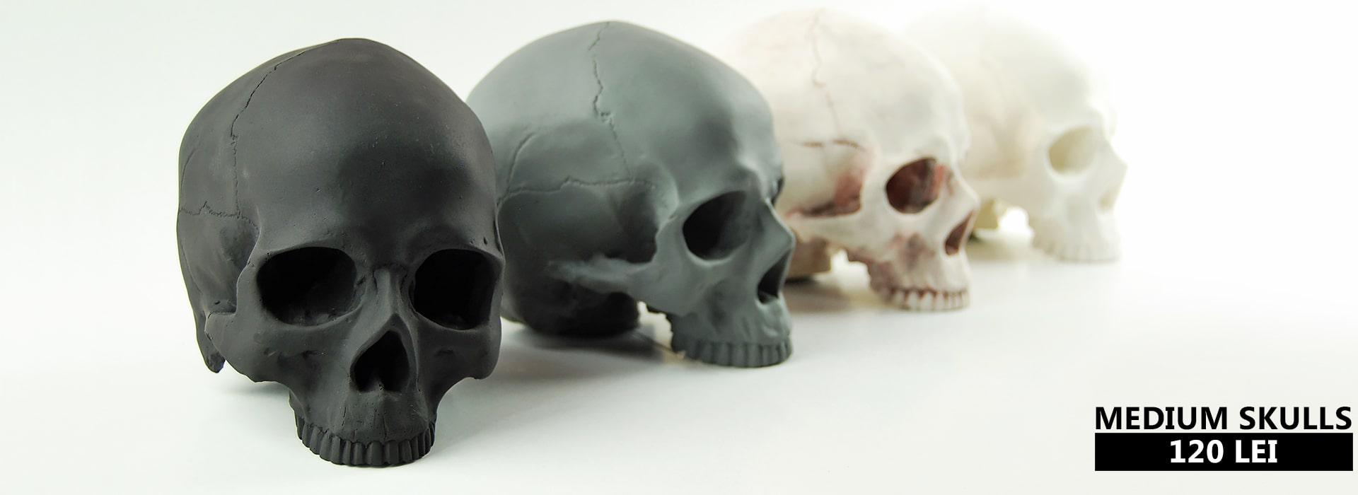 Cranii decorative simple Creeps