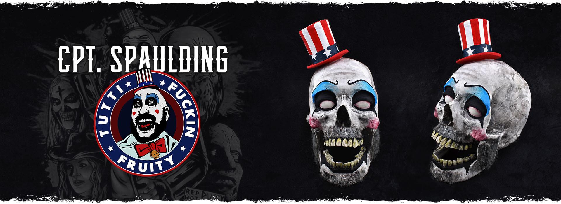 Craniu decorativ handmade Captain Spaulding