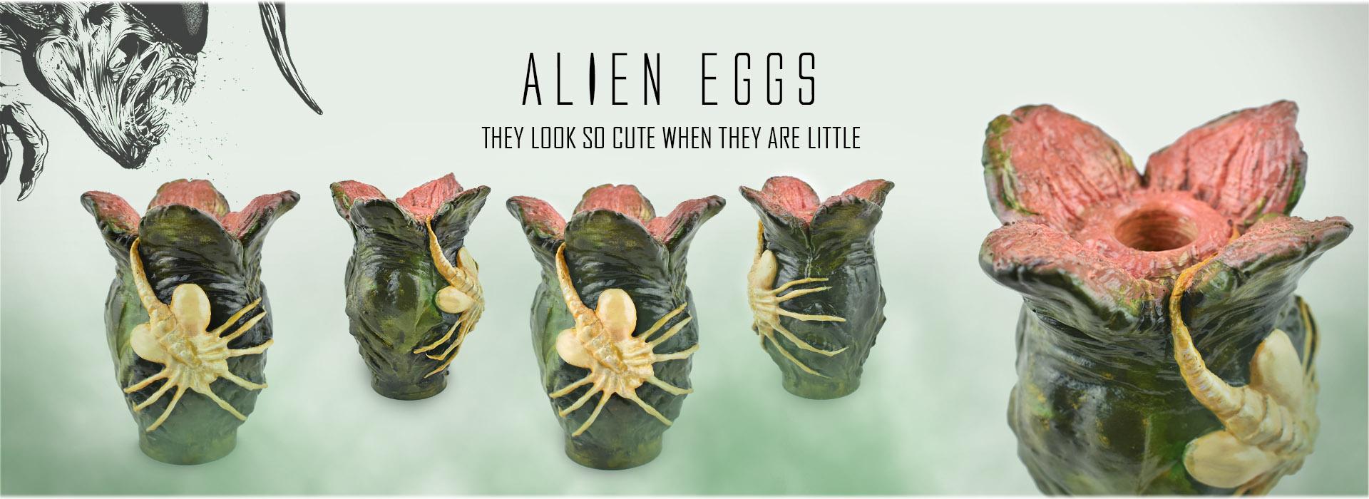 Oua Alien Eggs Xenomorph Facehugger