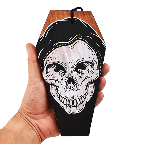 Grim Reaper Coffin