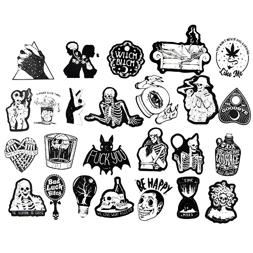 DARK STICKER PACK 3