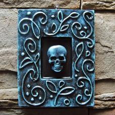 Tablou Grunge Skull
