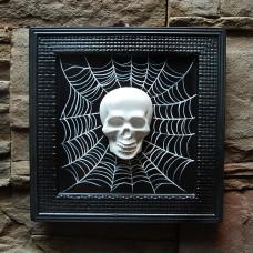 Tablou Spiderweb Skull