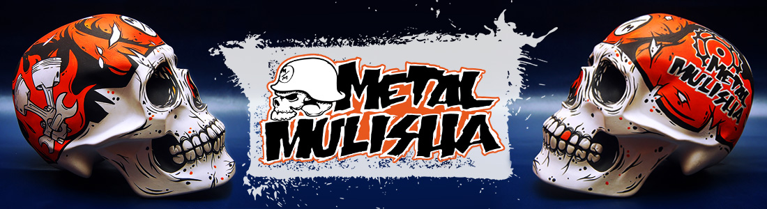 Craniu Custom Creeps - Metal Mulisha